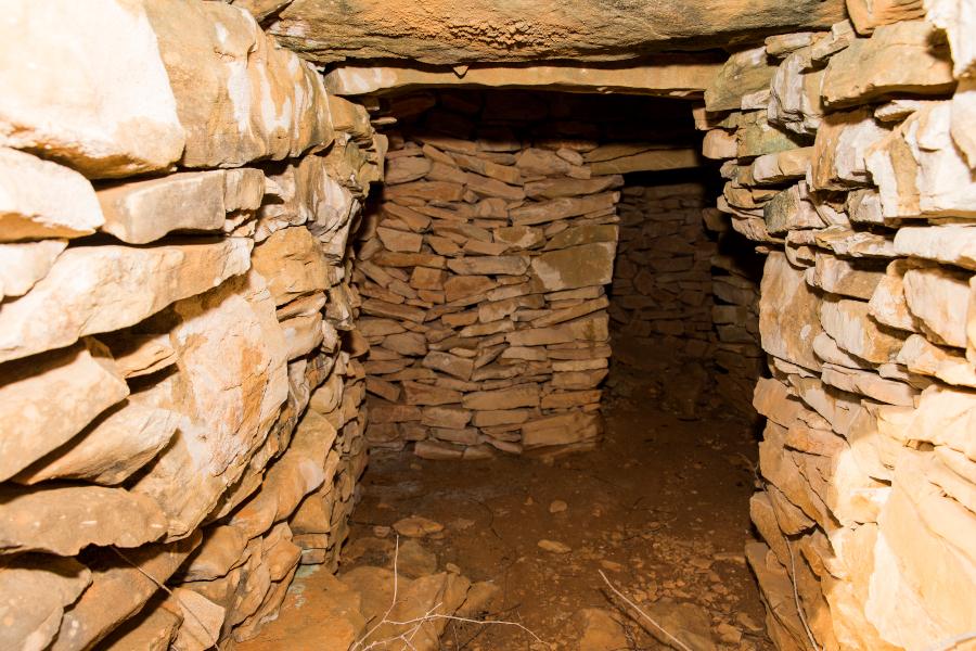 Caseta de piedra la Perdiguera