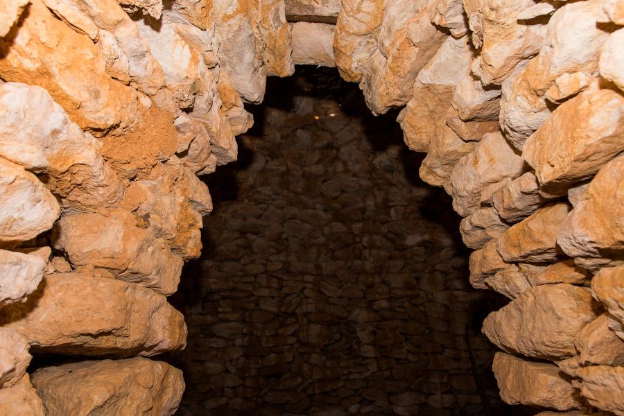 Casetas de piedra del Maset