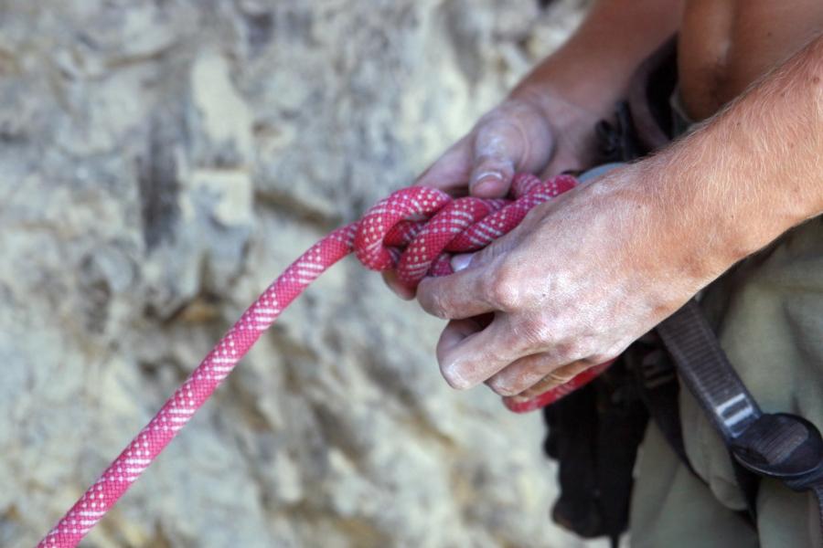 Ruta de escalada
