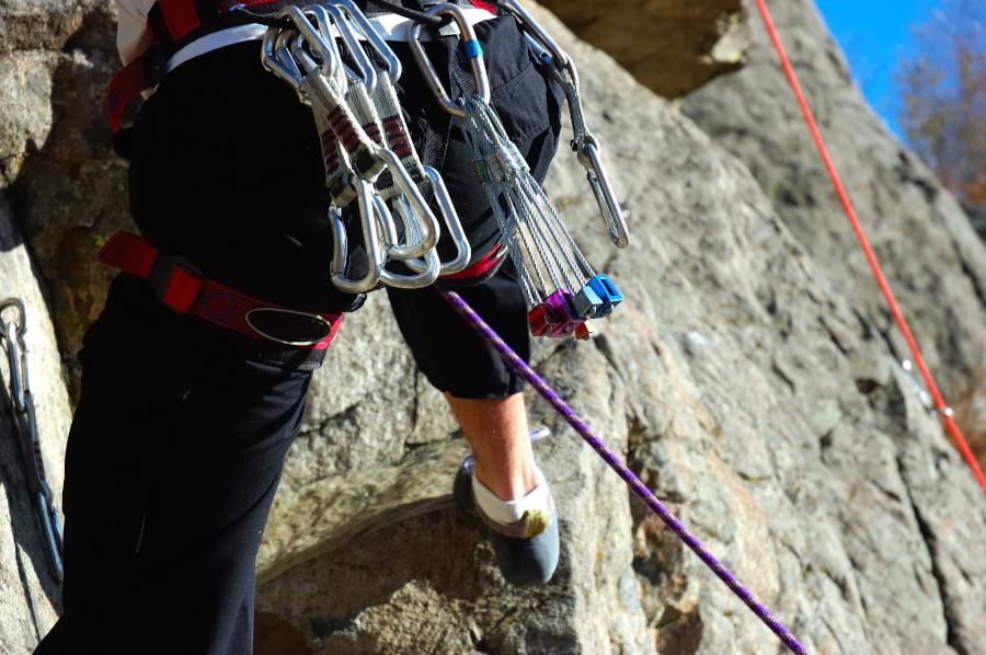 Rutas de escalada