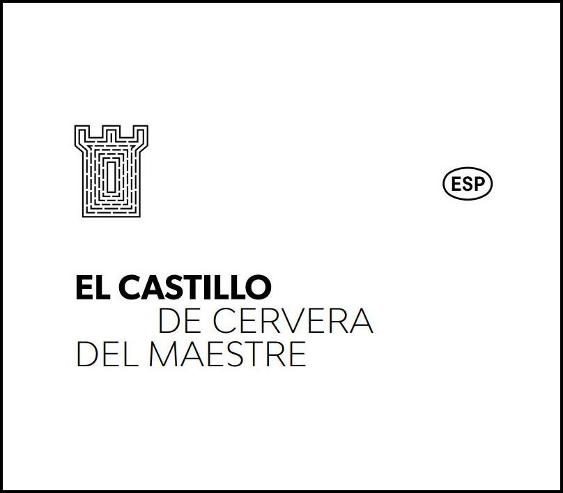 Triptico Castillo de Cervera Castellano