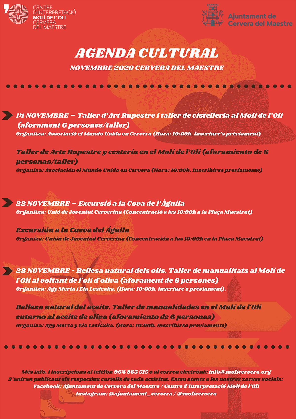 Póster Violencia Doméstica Rojo Amarillo Ilustrado Huella de M