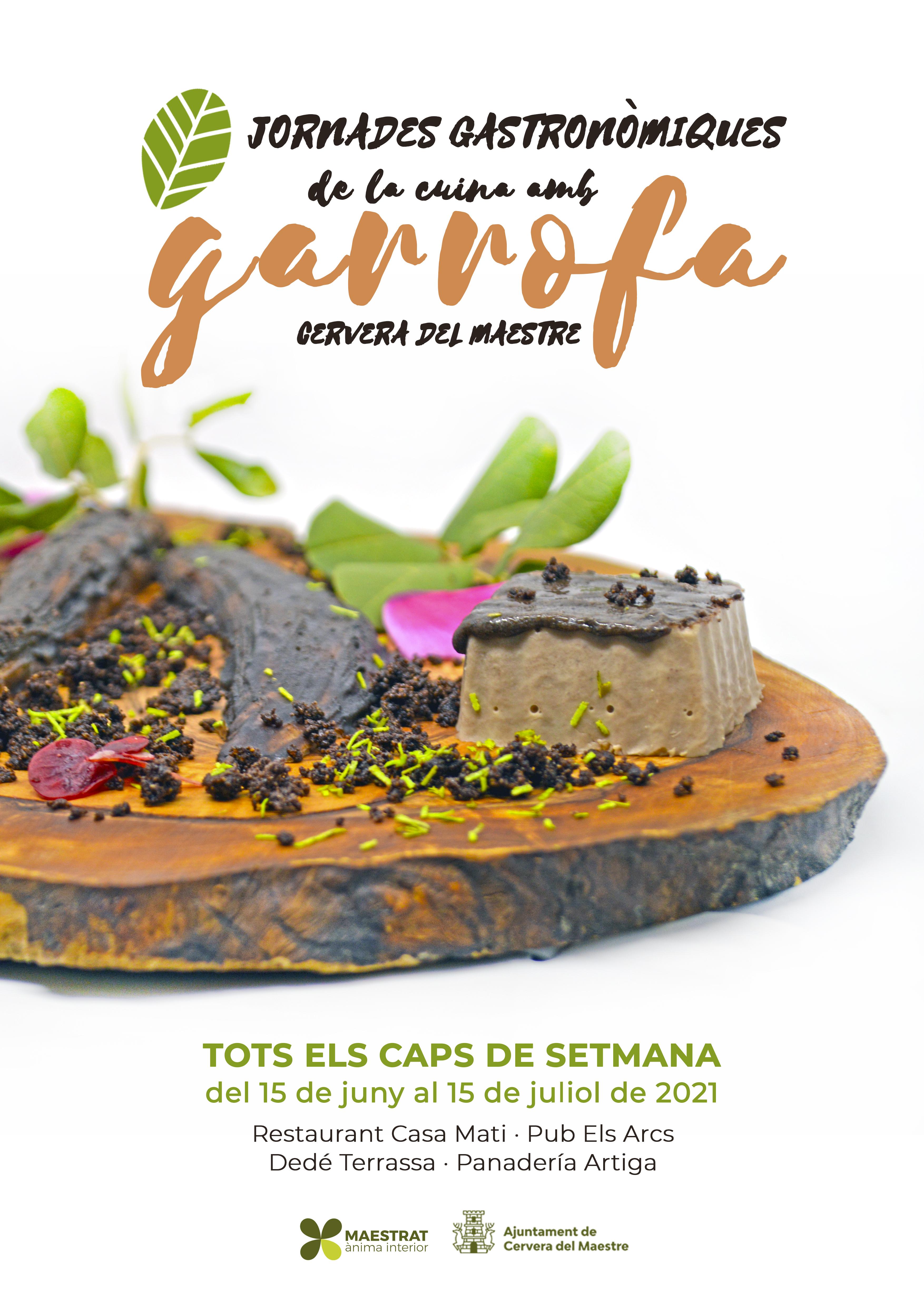 Imprimir Jornades Garrofa Cervera 2021