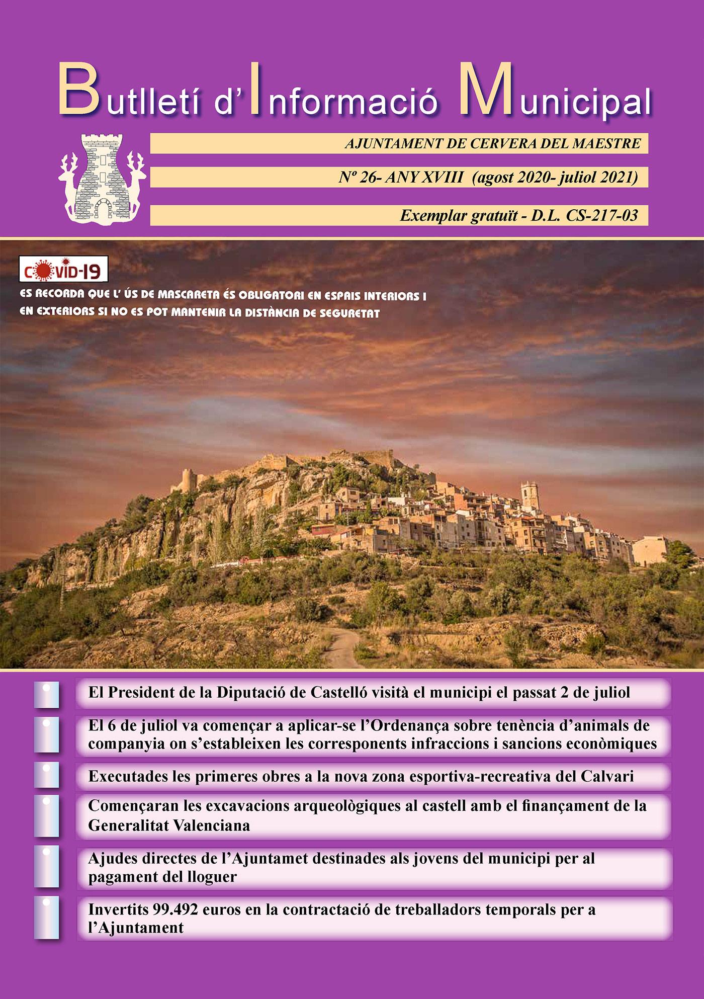 revista Cervera del Maestre número 26